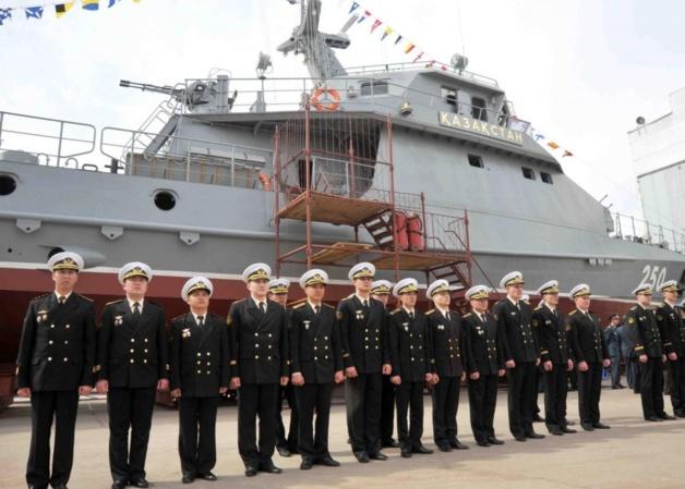 Le Kazakhstan, premier patrouilleur kazakh, lancé en 2012 | Crédit Photo -- Ministère de la Défense du Kazakhstan