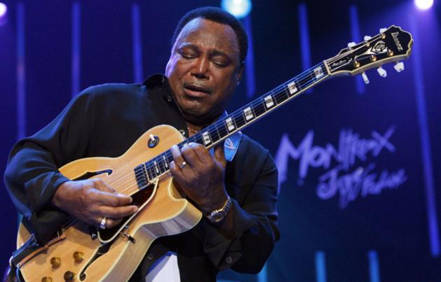 Georges Benson au Montreux Jazz Festival en 2009 / Crédit Photo -- MaxPPP