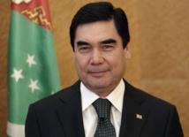 Le président turkmène Gurbanguly Berdymukhamedov | Crédits photo -- Reuters
