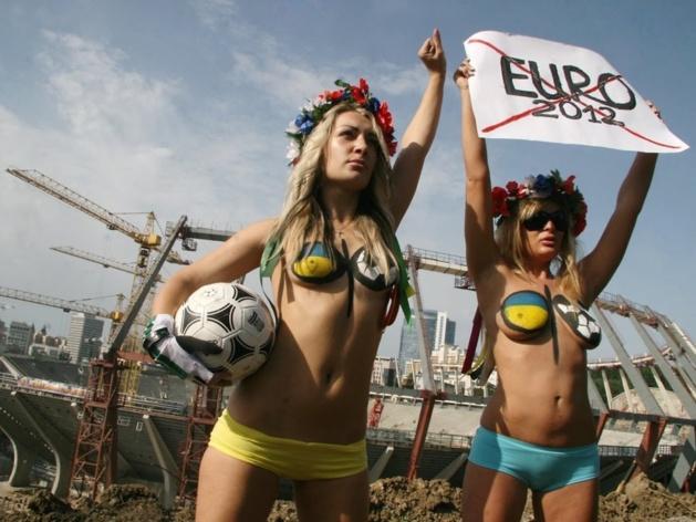 Crédit photo -- Femen