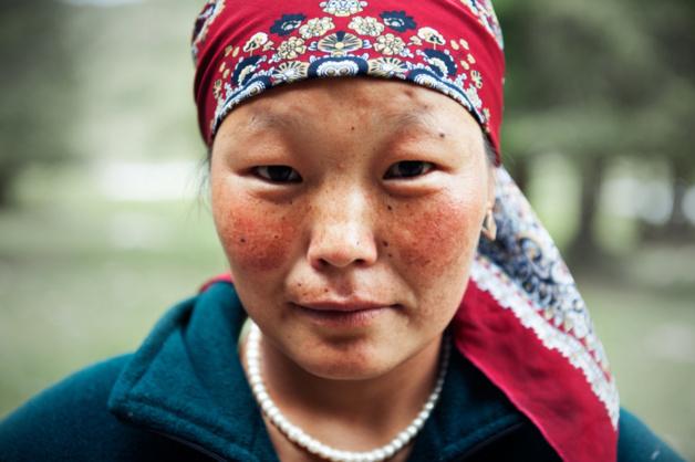 Kirghiz Portrait - Jety Oguz © All Rights Reserved