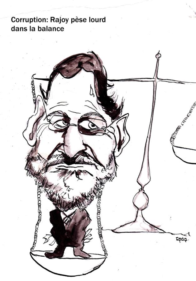 Corruption : Rajoy pèse lourd dans la balance