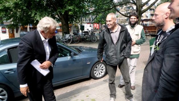 Eberhard van der Laan | Crédit photo -- kerkenbuurtwesterpark.nl / Sophia Kwikkel en Rolf Steenwinkel