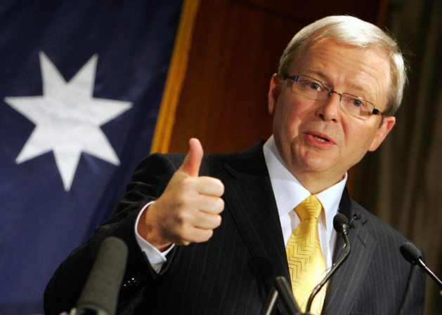 Kevin Rudd | Crédits photo -- Anoek De Groot/AFP/Getty Images