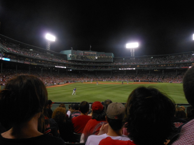 Cleveland Indians vs Boston Red Sox, Fenway Park, Boston, États-Unis / Crédit Photo – Antoine Boyet