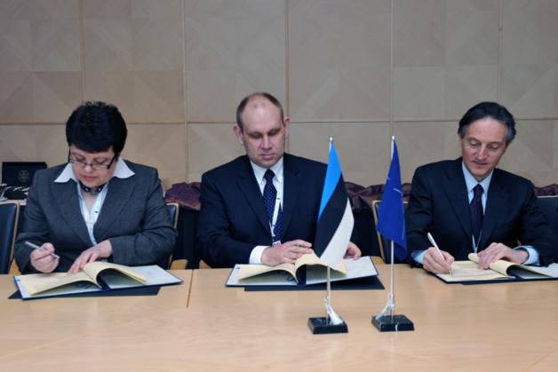 L'OTAN et l'Estonie signent un accord en matière de cyberdéfense | Crédits photo -- NATO Official Website