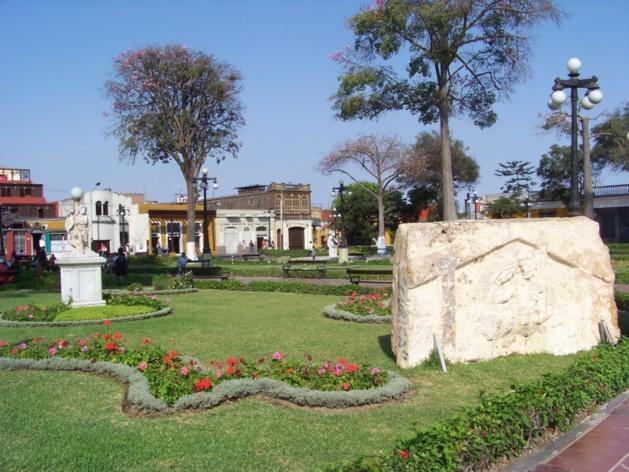 Parque de Barranco. Crédits photo -- Laura-Lise Reymond