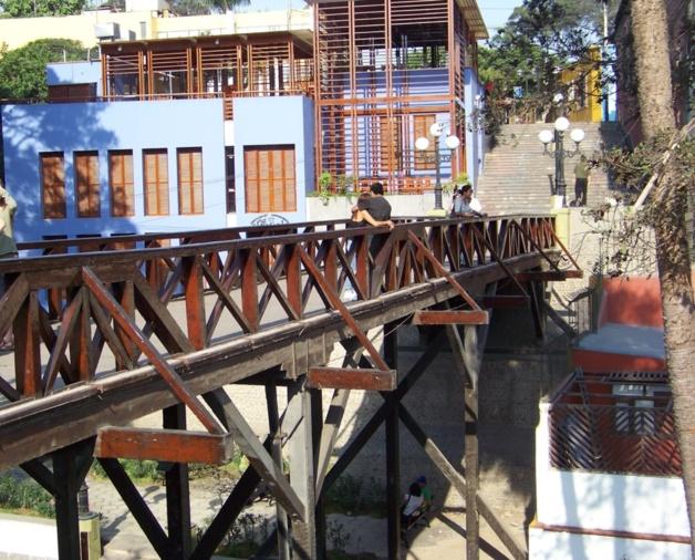 """Le """"Pont des soupirs"""" (puente de los suspiros). Crédits photo -- Laura-Lise Reymond"""