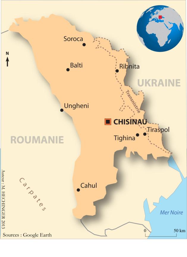 Le géant Orange s'implante dans la petite Moldavie