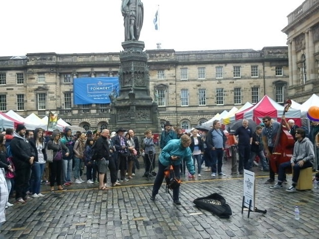 Street Acts on the Royal Mile | Credits: Katrin Heilmann/Le Journal International