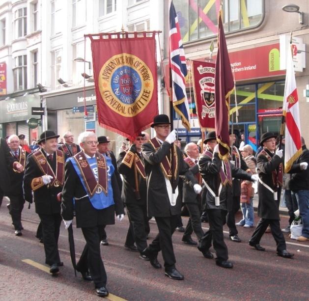 Parade of the Orange Order in Belfast | Credits : Fabien Aufrechter/Le Journal International