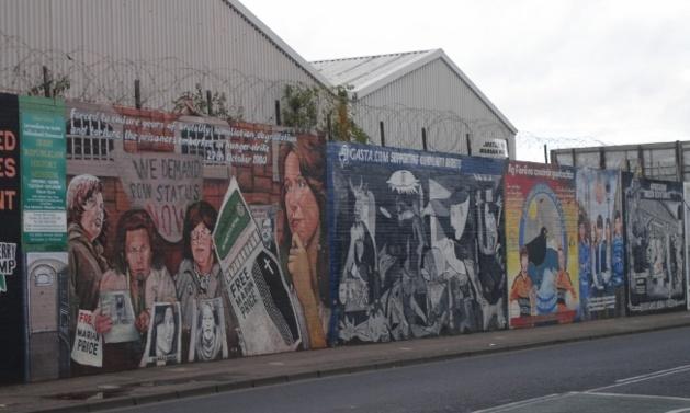Peace wall in Belfast | Credits : Fabien Aufrechter/Le Journal International