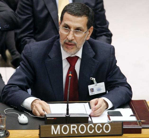 Saad Eddine Othmani, ministre des affaires étrangères marocain | Crédit Photo -- un.int