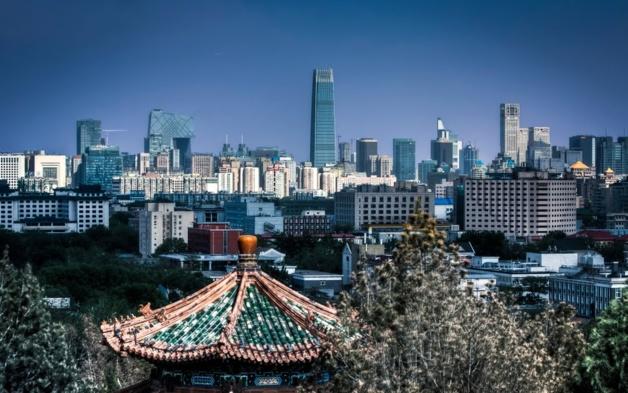 Skyline of Beijing   Crédits photo -- Sarmu/Panoramio