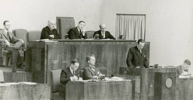 Assembly of the League of Nations | Credits -- UCDA
