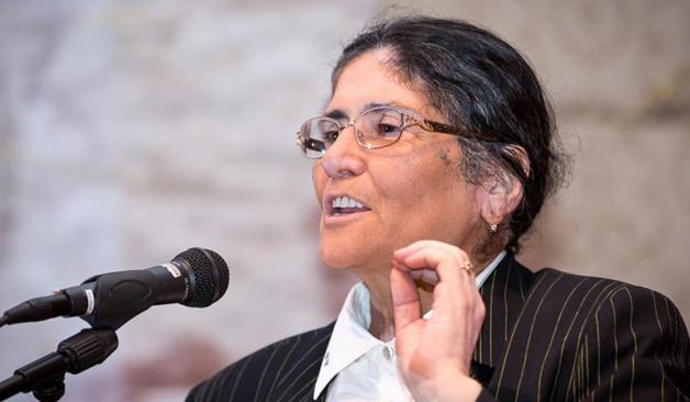 Oynihol Bobonazarova lors de son discours d'investiture | Crédit Photo -- tandempost.com