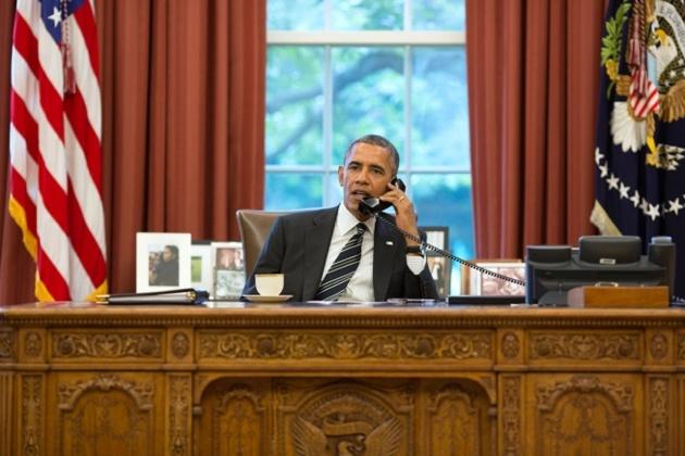 Crédits Photo -- Photo officielle The White House