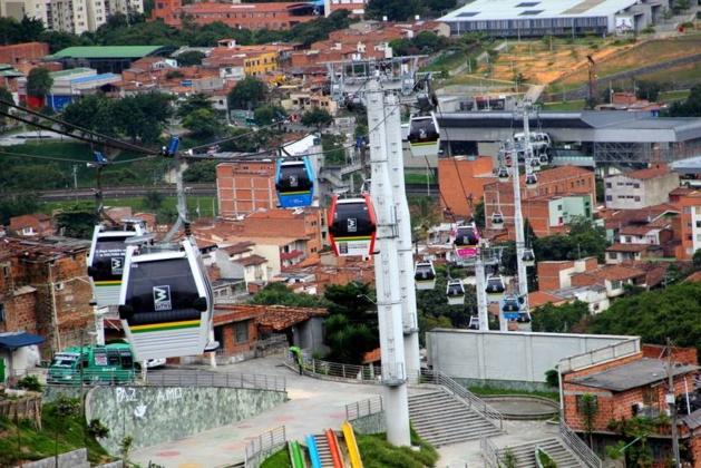Le Metrocable dans la Comuna 3 | Lucas Marroni/Le Journal International