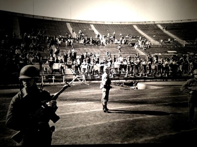 El Estadio Nacional, 1973 | Crédit Photo --- DR
