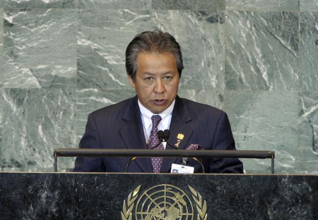 Anifah Aman, ministre des Affaires étrangères malésien   Crédits Photo --   DR