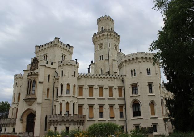 Le château d'Hluboka | Crédits photo -- Marine Vigato/Le Journal International