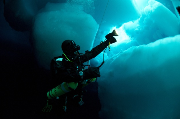 Crédit Photo --- Benoit Poyelle | Deepsea Under The Pole by Rolex
