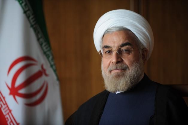Hassan Rohani, président de la République islamique d'Iran