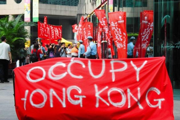 «Occupy Central» : la menace pacifiste des pro-démocrates hongkongais