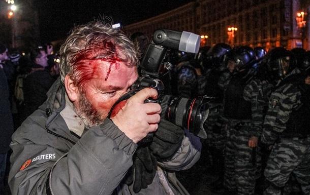 Gleb Garanich, photographe de Reuters blessé par le Berkut | © Reuters