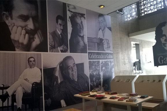 Crédit Eliana Renteria - Celebrando a Gabo' exposición en la biblioteca Luis Angel Arango de Bogotá