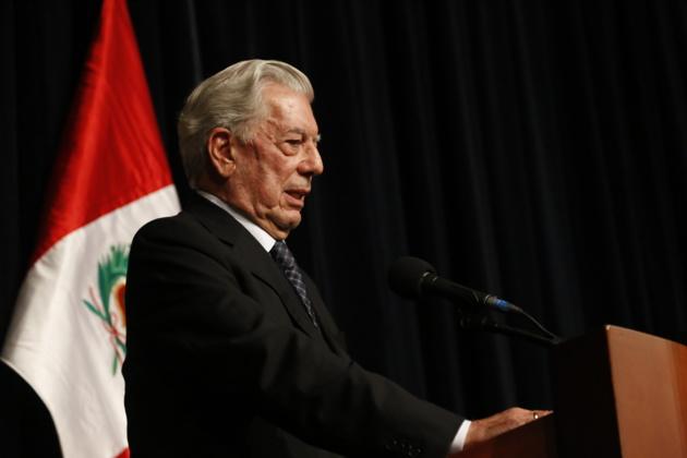 Mario Vargas Llosa, Prix Nobel de Littérature 2010 © Filboblog.com