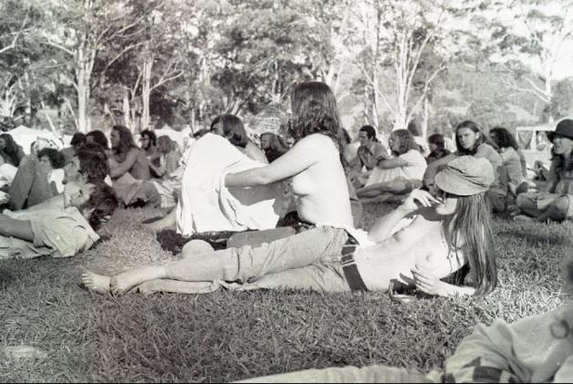 L'Aquarius Festival de 1973. Crédit DR