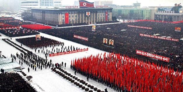 Crédit : KNS/KCNA/AFP