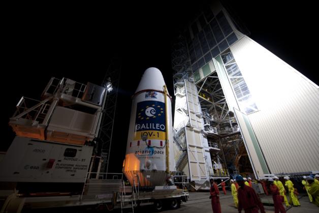 Le programme de localisation par satellite de l'Agence Spatiale Européenne « Galileo . Crédit: Agence Spatiale Européenne