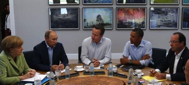 Vladimir Poutine lors du G8 d'Enniskillen, en Irlande du Nord, en juin 2013. En matière internationale, la Russie n'accepte plus de jouer les seconds rôles. Crédit DR