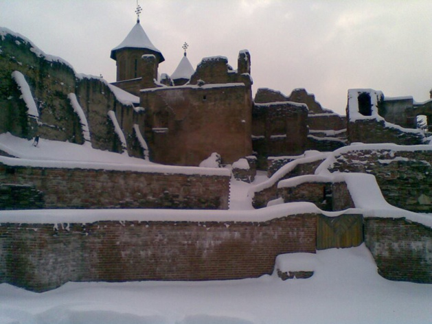 Palais de Targoviste. Crédit Maria-Christina Dinu