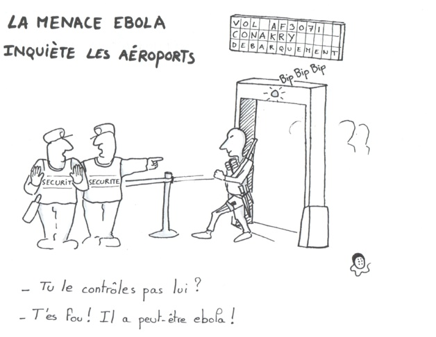La menace Ebola inquiète les aéroports