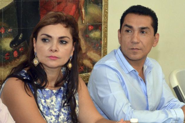 Maria de los Ángeles Pineda et José Luis Abarca. Crédit Alejandrino Gonzalez