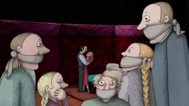 Image tirée du film Akmeņi manās kabatās