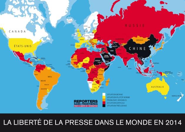 Crédits Reporters sans Frontières