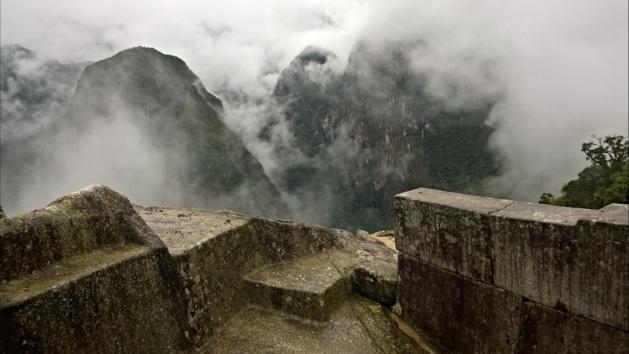 Sur le Machu Picchu. Crédit Salomé Ietter