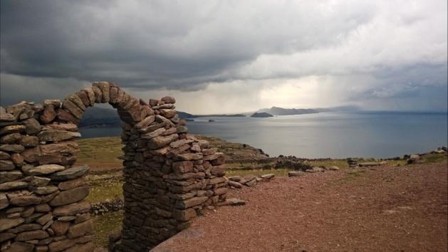 Le lac Titicaca, vue de l'île d'Amantaní. Crédit Salomé Ietter