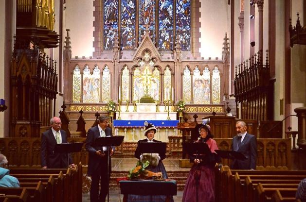 Concert des chants traditionnels de Pilgrims, église Saint Paul - Crédit Mathilde Grenod
