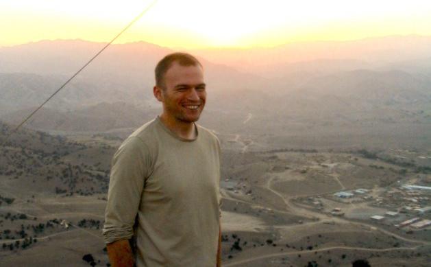 Sean en Afghanistan
