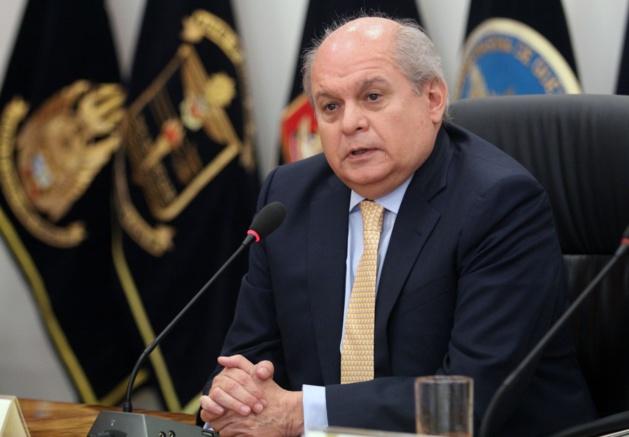 Pedro Cateriano, le nouveau Premier ministre du Pérou - Crédit Andina