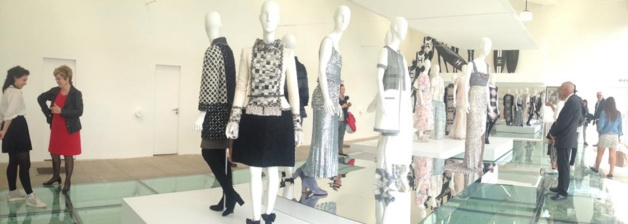 Exposition temporaires de créations Chanel à la Villa Noailles - Crédit Selena Miniscalco