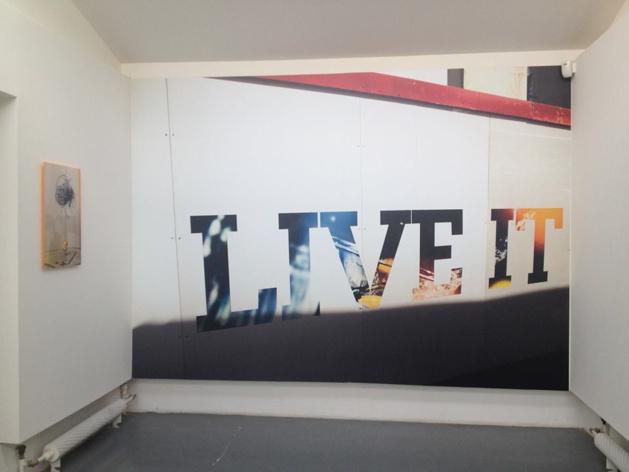 Une partie de l'exposition de photographie à la Villa Noailles - Crédit Clémence Barbiche
