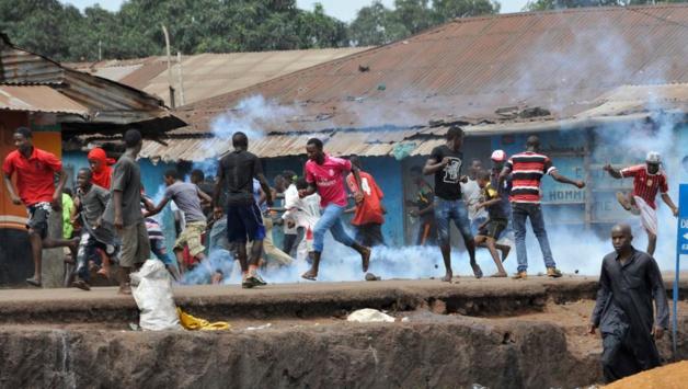 Selon l'opposition, une vingtaine de personnes aurait été blessée lors de la journée de manifestation du 4 mai. Crédit AFP/Cellou Binani