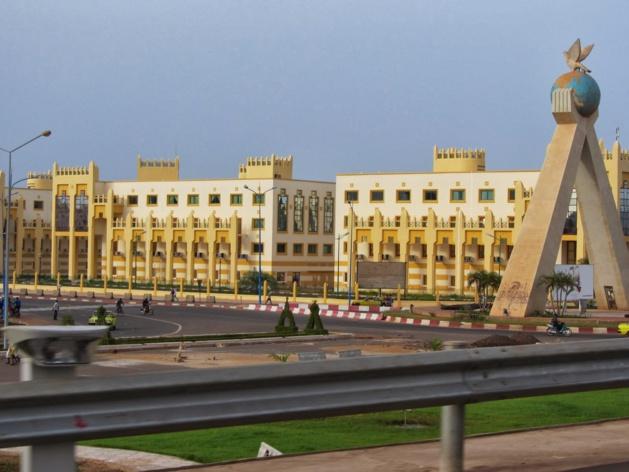 La cité administrative de Bamako, au Mali. Crédit Fousseni Traore
