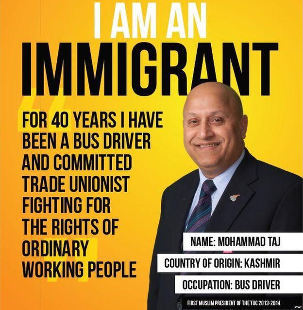 Campagne pro-immigration. Crédit photo : Movement Against Xenophobia